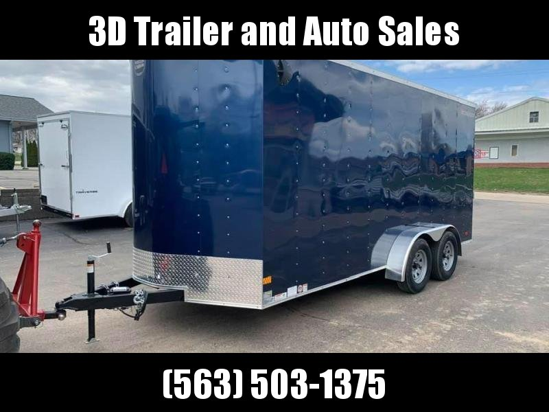2020 Wells Cargo 7' x 16' x 7' Fast Track Deluxe Wedge Front UTV Enclosed Cargo Trailer