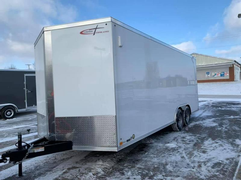 "2020 Cross Trailers 8.5' X 20' X 6'6""10K GVWR ENCLOSED TRAILER Enclosed Cargo Trailer"