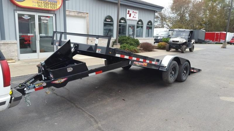"2020 H & H 82"" X 20' 10k Speedloader EX Power Tiltbed Car / Racing Trailer"