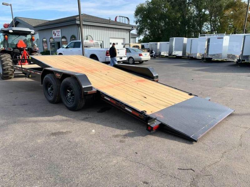 2020 Chase Trailers 22' 10K Split Deck Tilt Bed Equipment Trailer