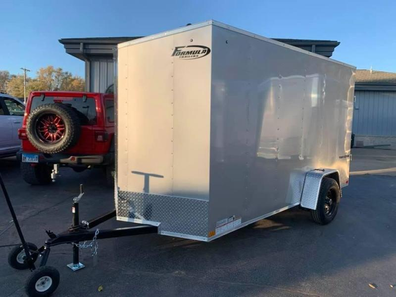 2020 Formula 6' x 12' x 6'6 Traverse Enclosed Cargo Trailer