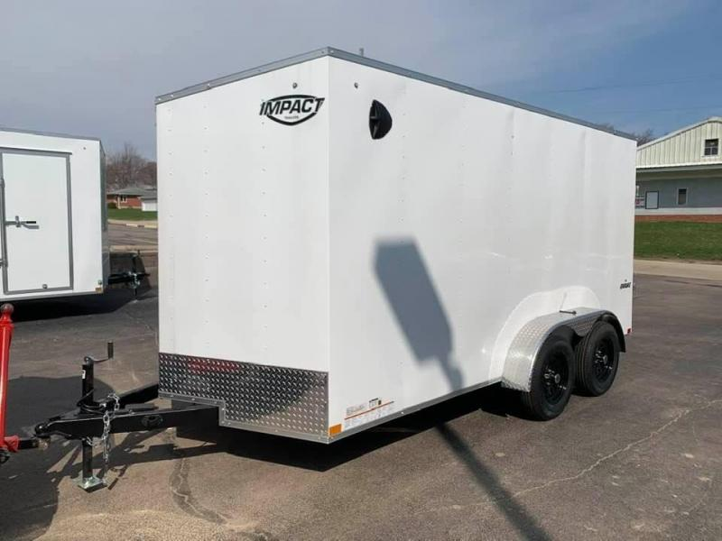 2021 Impact Trailers 7' X 14' X 6'6 Quake UTV PKG Enclosed Cargo Trailer
