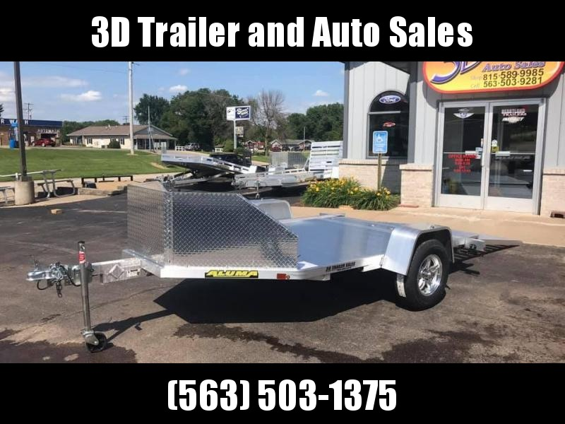 2020 Aluma MC210 (2) Place Aluminum Motorcycle Utility Trailer