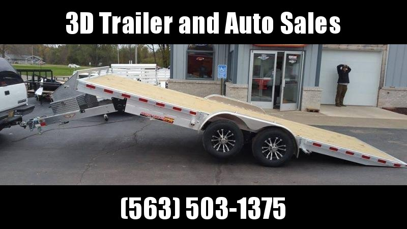 2020 H & H Trailer 82 X 20 10k Aluminum Speedloader EX Car / Racing Trailer