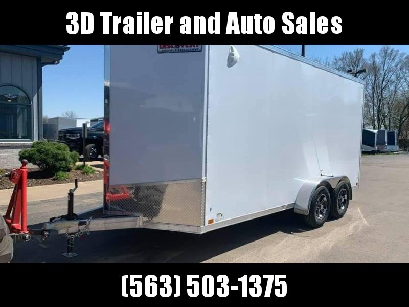 2021 Discovery 7' x 14' x 7'  ALUMINUM ENDEAVOR UTV PKG Enclosed Trailer w/ Ramp