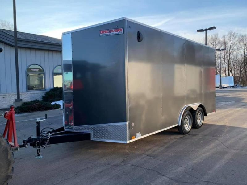 2020 Discovery 8.5' X 16' X 7' 7K CHALLENGER ET RAMP DOOR ENCLOSED CARGO TRAILER