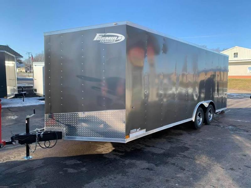 "2020 Formula Trailers 8.5 x 20 x 6'6"" 7k Conquest Car Trailer Enclosed Cargo Trailer"