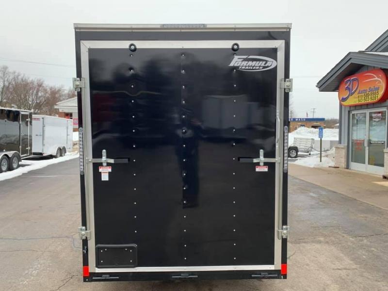 2020 Formula 6' x 12' x 7' Traverse Enclosed Cargo Trailer