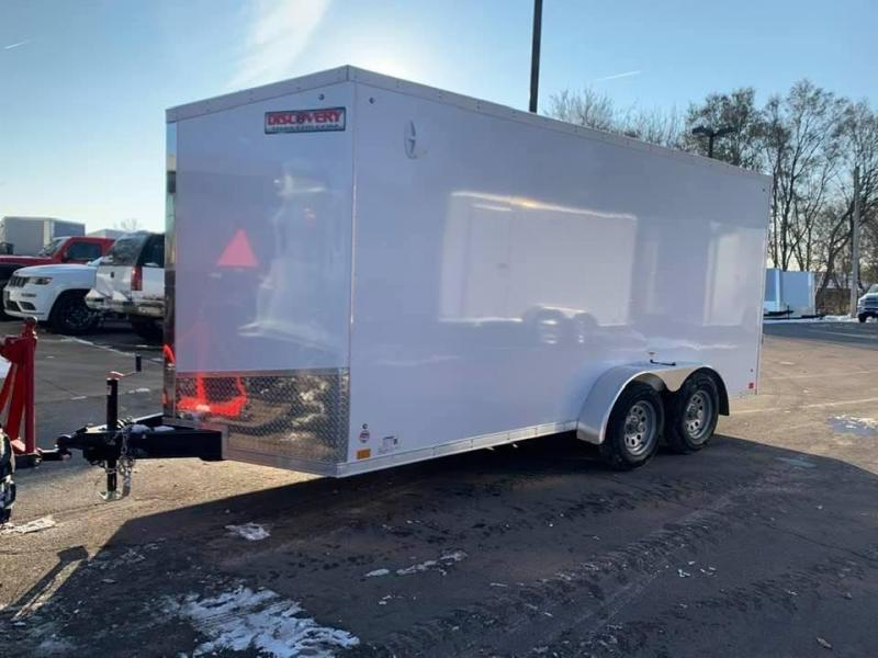 2020 Discovery 7' x 16' x 7' Rover SE UTV PKG Enclosed Trailer w/ Ramp