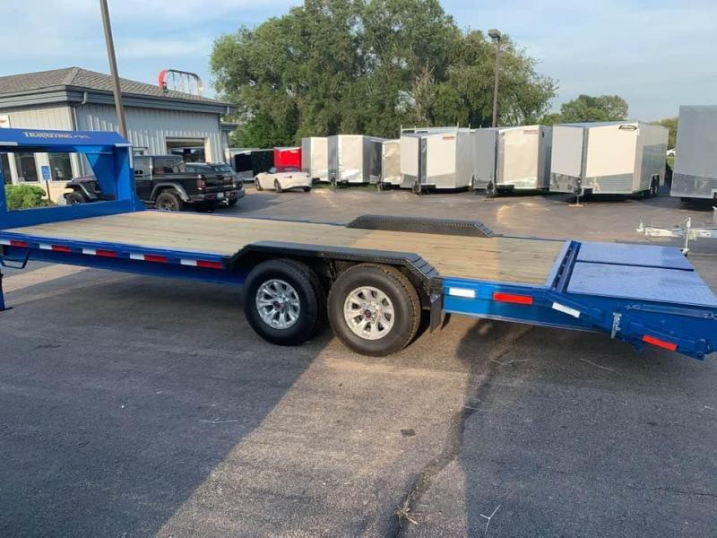2020 Travalong 23' 14k Gooseneck Full Width Lowboy Equipment Trailer