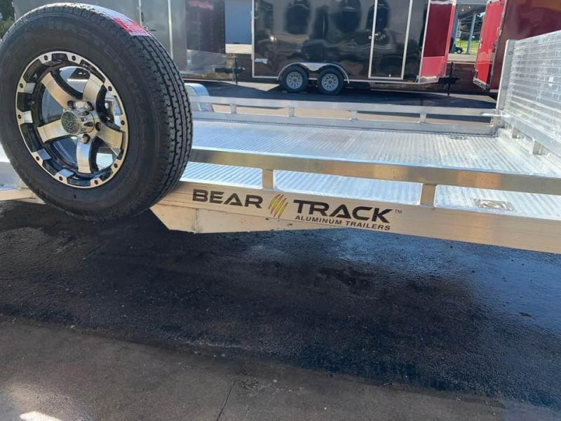 2020 Bear Track 81 X 16 7k All Aluminum HD Tandem Axle Utility Utility Trailer