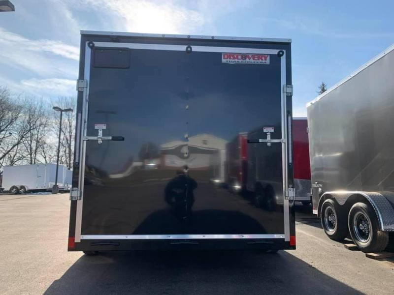 2020 Discovery 7' x 14' x 6'6 Rover ET Enclosed Trailer w/ Ramp