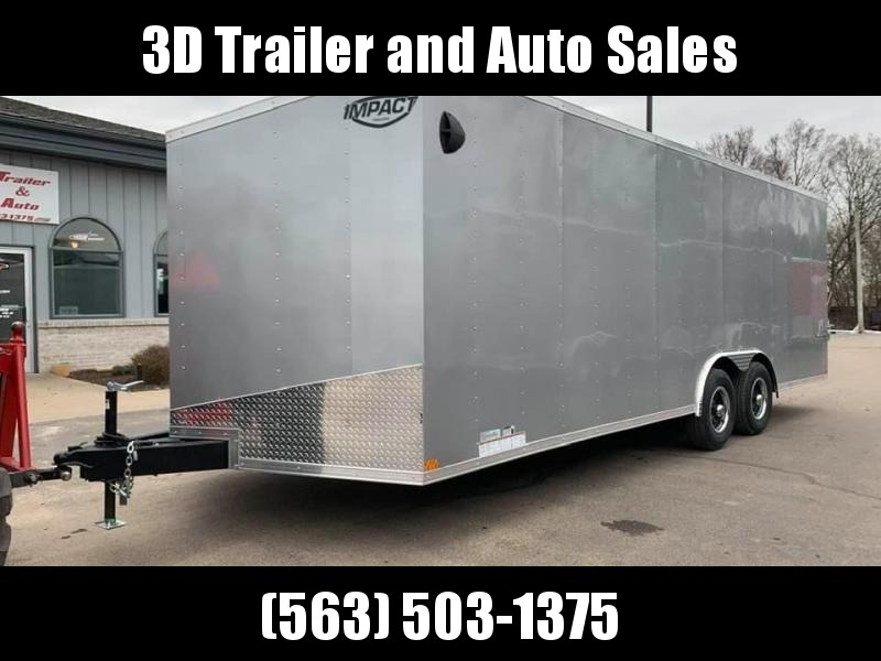 Impact Trailers 8.5 X 22 X 6.5 Enclosed Race/ Car Trailer
