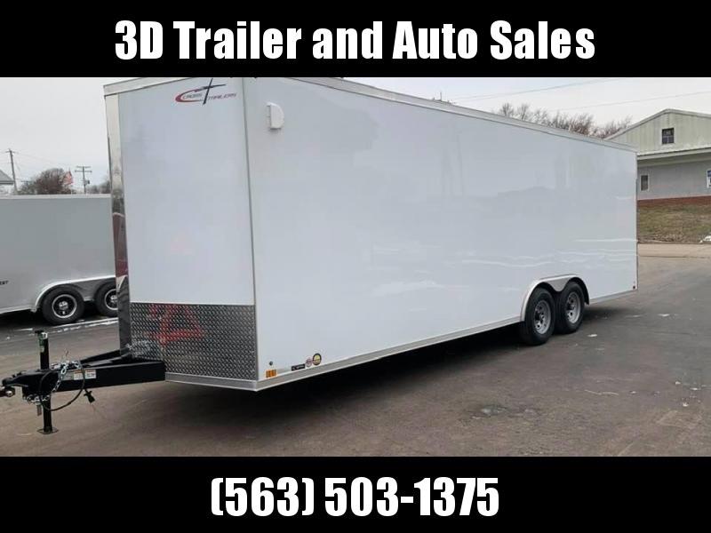 2020 Cross Trailers 8.5' X 24' X 7' 10K GVWR ENCLOSED TRAILER Enclosed Cargo Trailer