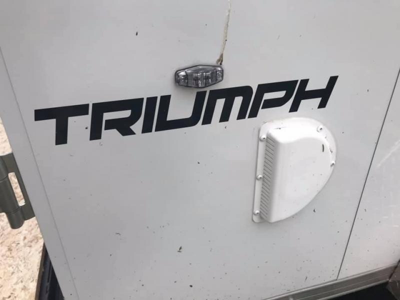 2020 Formula 7' x 14' x 7' 7k Triumph UTV PACKAGE Enclosed Trailer