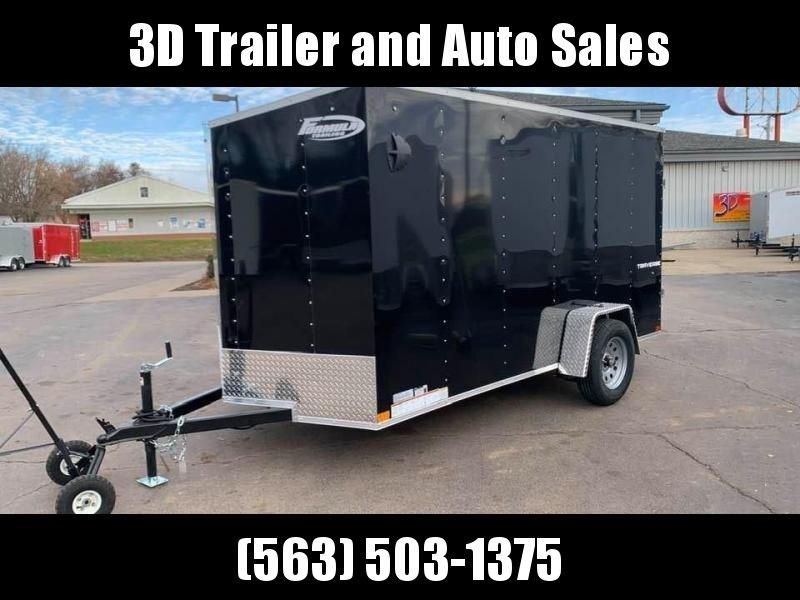 2020 Formula 6' x 12' x 6' Traverse Enclosed Cargo Trailer
