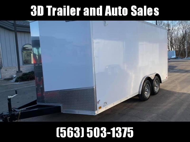 """2020 Discovery 8.5' X 16' X 6'6"""" 10K CHALLENGER SE RAMP DOOR ENCLOSED CARGO TRAILER"""