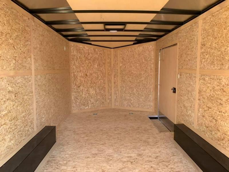 "2020 Discovery 8.5' X 16' X 6'6"" 10K CHALLENGER SE RAMP DOOR ENCLOSED CARGO TRAILER"