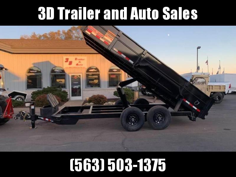 "2020 Midsota 82"" X 16' VERSA DUMP Dump Trailer"