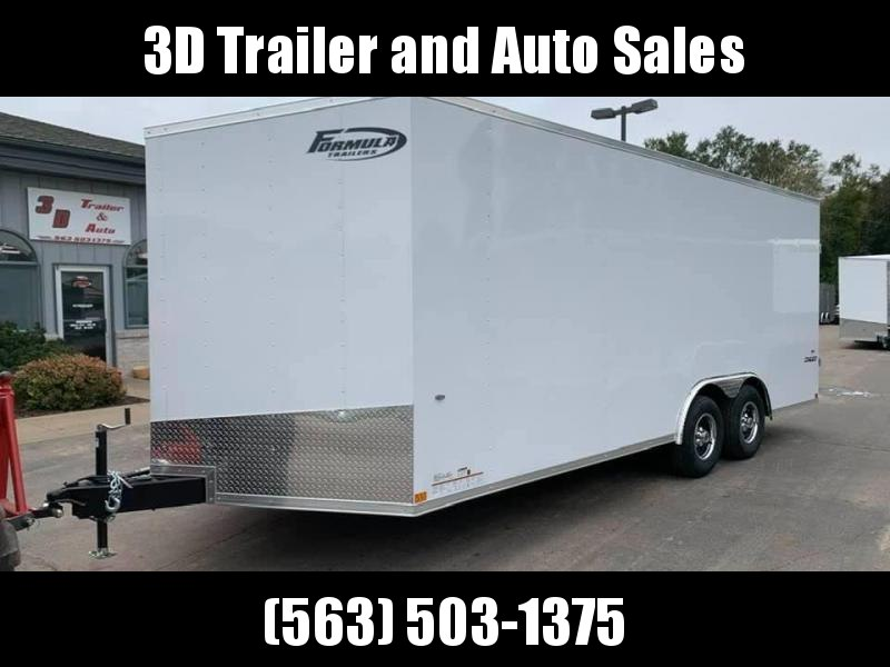 2020 Formula Trailers 8.5' x 24' x 7' 10k Conquest  Enclosed Cargo Trailer