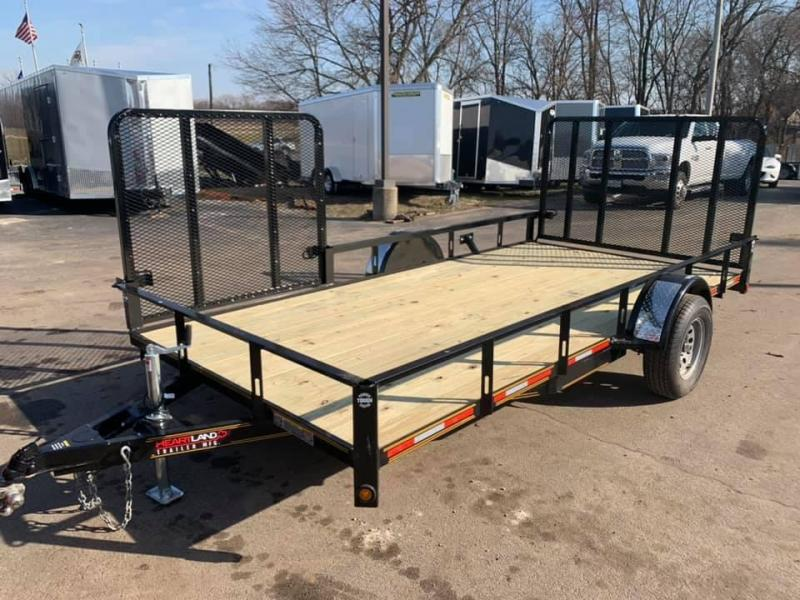 2020 Heartland 7' x 14' ATV Model with 4' side & Rear Gate