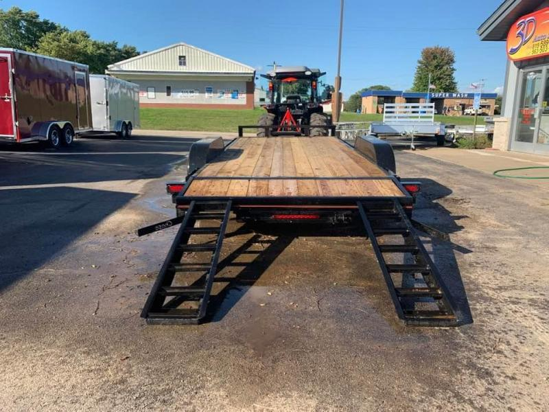 2019 Chase Trailers 18' 7K Loaded Flatbed Car Trailer