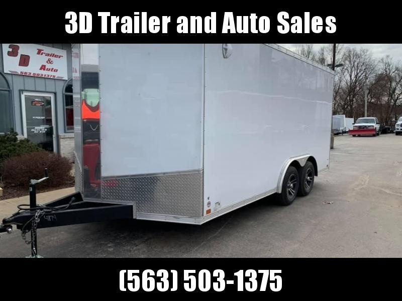 "2020 Discovery 8.5' X 16' X 6'6"" 7K CHALLENGER SE RAMP DOOR ENCLOSED CARGO TRAILER"