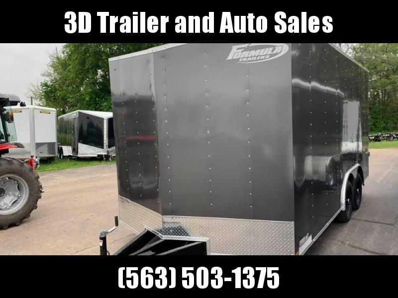 2021 Formula Trailers 8.5' x 16' x 7' 7k Traverse  Enclosed Cargo Trailer