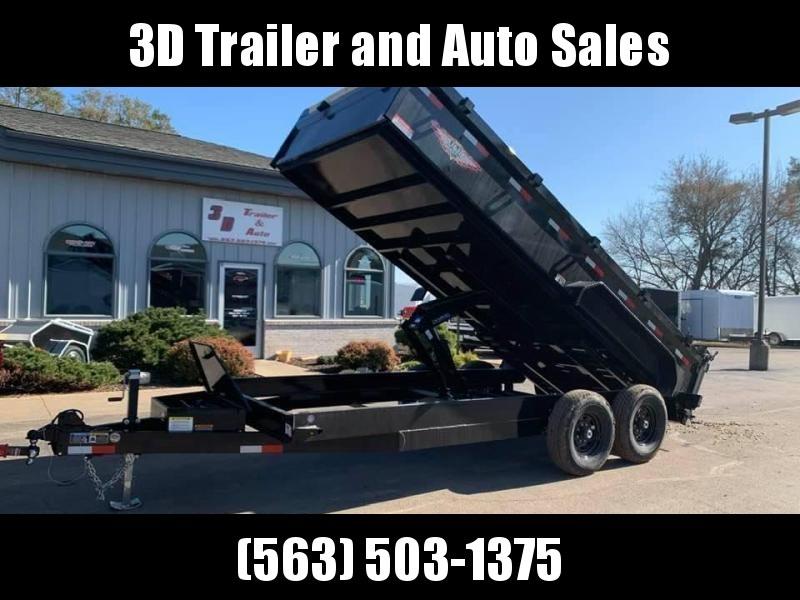 "2020 H & H 83"" x 16' 14k Dump Trailer"