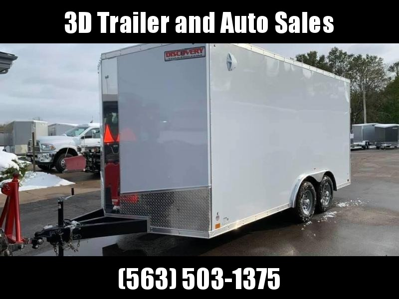 2020 Discovery 8.5' X 16' X 7' 10K CHALLENGER SE RAMP DOOR ENCLOSED CARGO TRAILER