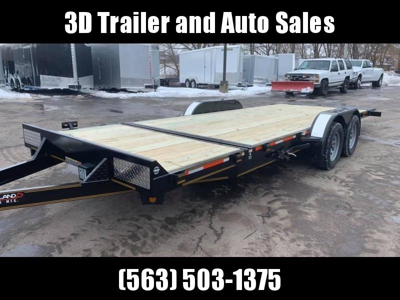 2020 Heartland 22' 7K GVWR Suretilt Car Trailer