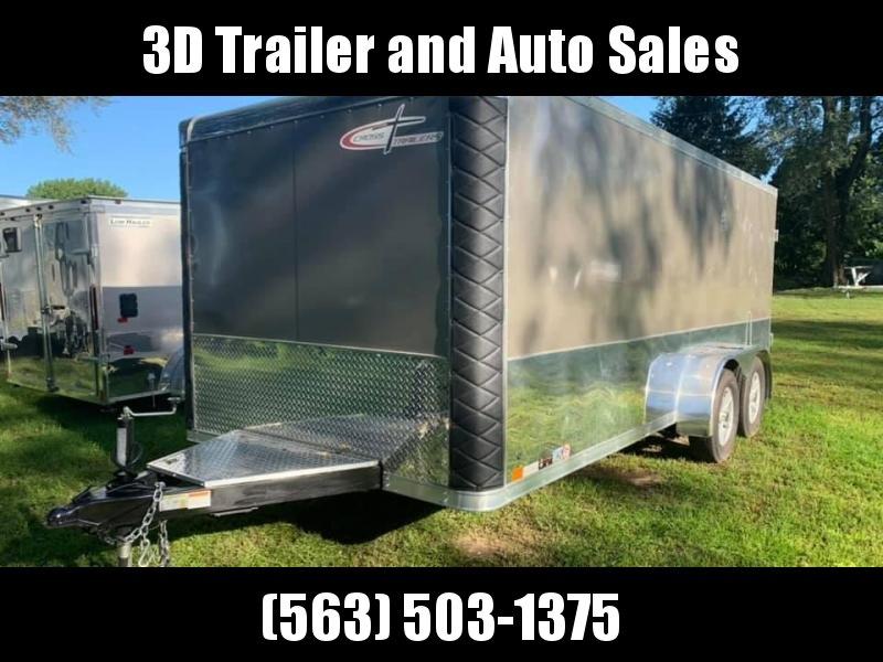 2018 Cross Trailers 7x16 Low Pro Enclosed Cargo Trailer