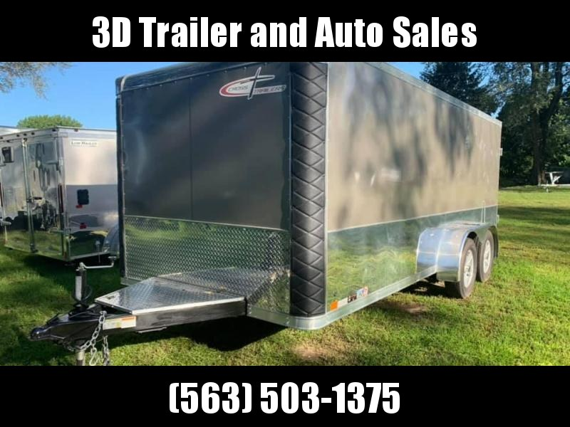 2018 Cross Trailers 7x16 Low Pro Enclosed Cargo Trailer