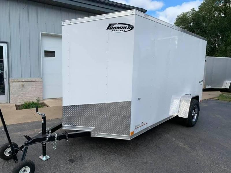 2020 Formula 6' x 12' x 6' Conquest Enclosed Trailer