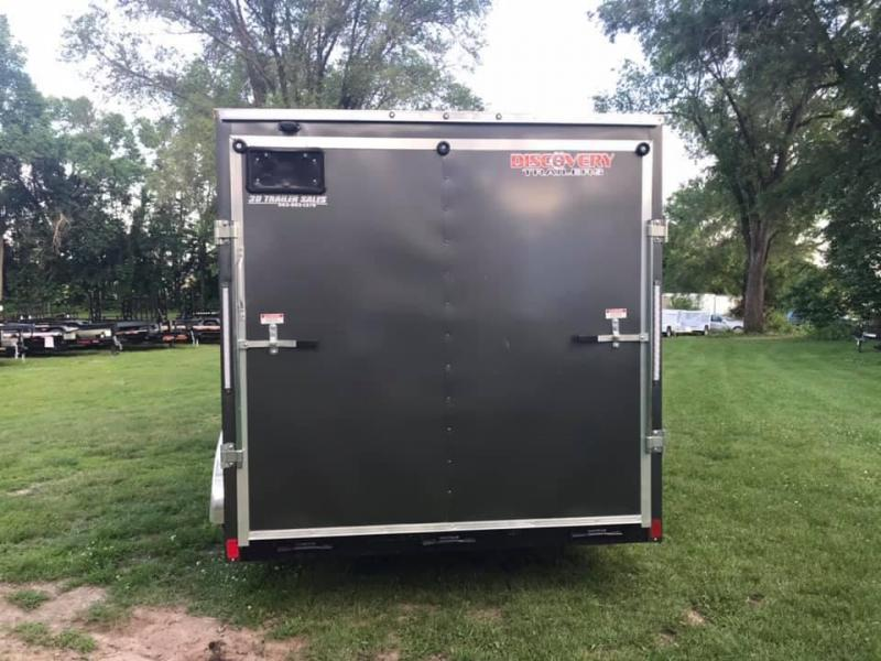 "2020 Discovery 7' x 14' x 6'6"" Rover ET Enclosed Trailer w/ Ramp"