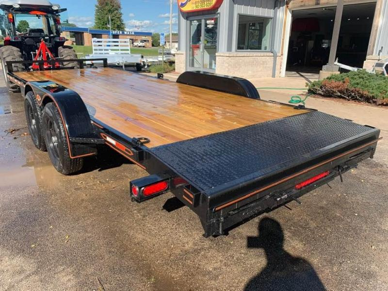 2020 Chase Trailers 20' 10K Loaded Flatbed Car Trailer