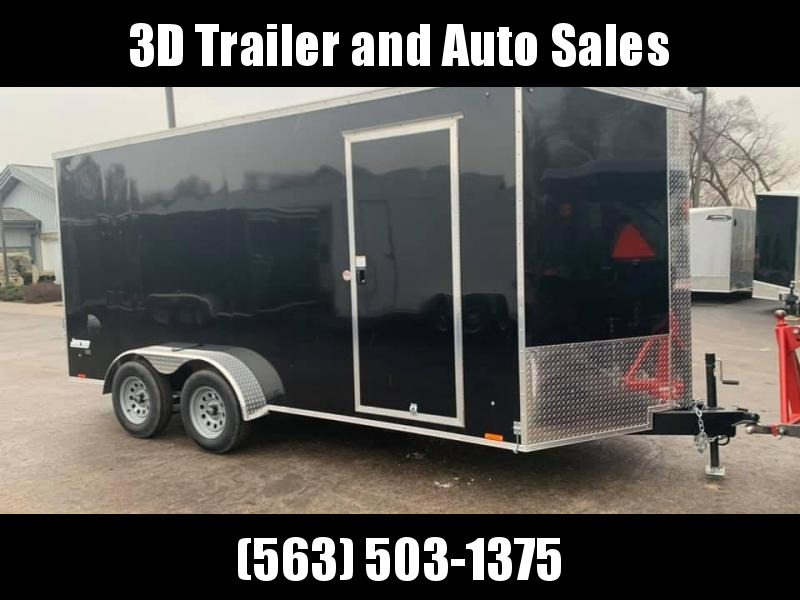 """2021 Pace American 7' x 16' x 6'6"""" Cargo Sport Enclosed Trailer"""