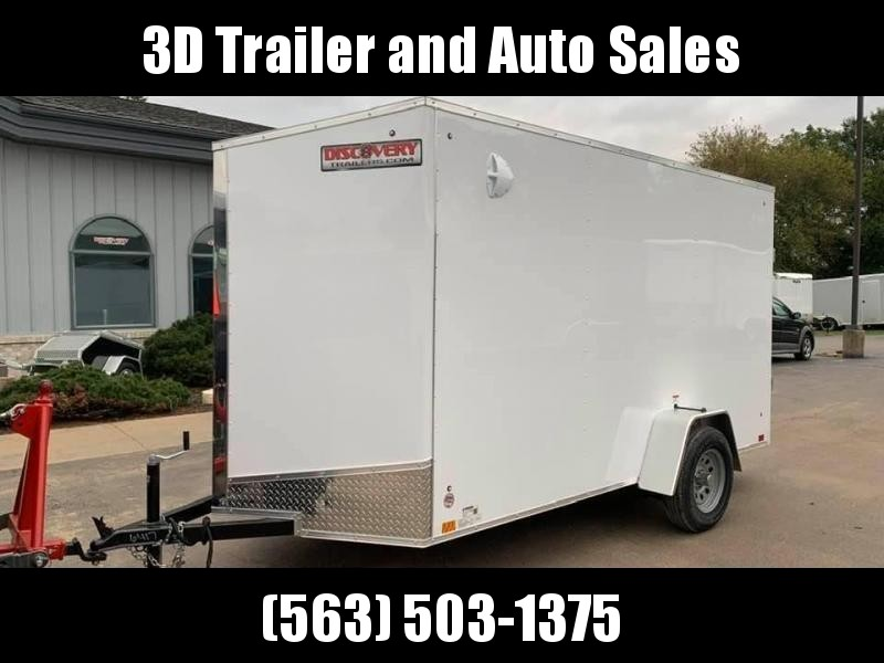 "2020 Discovery Trailers 6 X 12' X 6'6"" ROVER ET ENCLOSED CARGO TRAILER Enclosed Cargo Trailer"