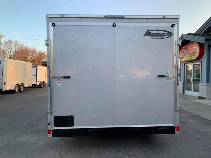 Formula Trailers 8.5 X 16 X 7 Enclosed Race/ Car Trailer