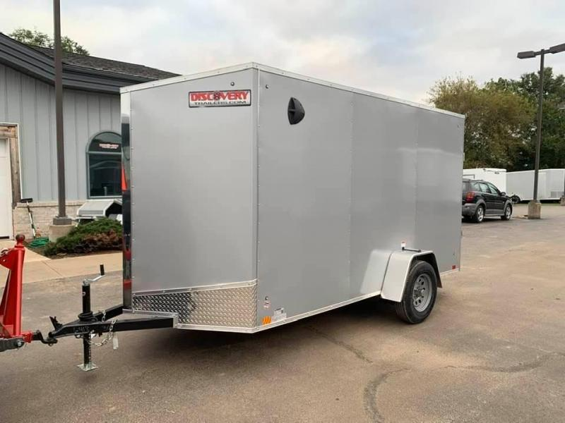"2020 Discovery Trailers 6' X 12' X 6'6"" ROVER ET ENCLOSED CARGO TRAILER Enclosed Cargo Trailer"