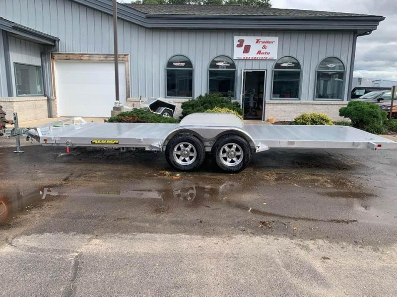 "2020 Aluma 82"" x 20' Heavy 10k Aluminum Tilt Bed Car / Racing Trailer"