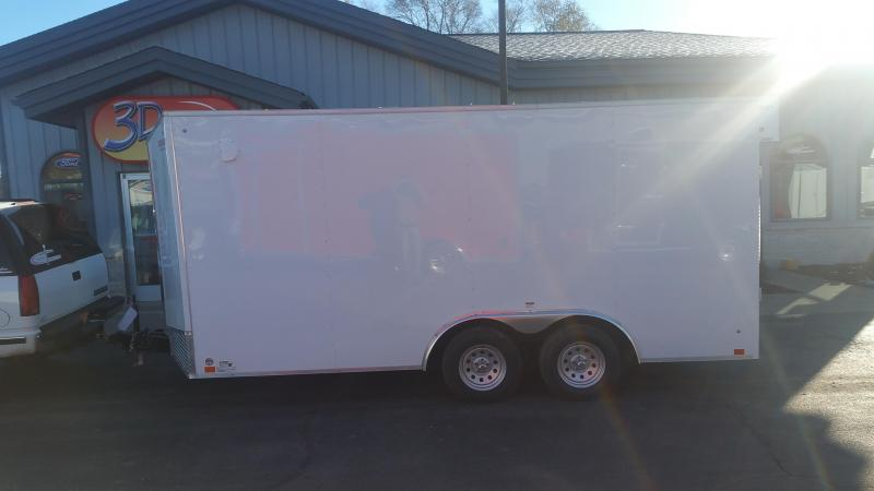2020 Discovery  8.5' x 16' x 7' Challenger ET 7K Enclosed Cargo Trailer