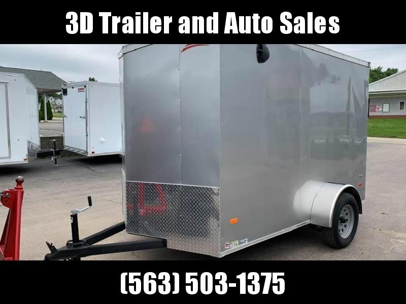 2020 American Hauler 6' x 10' x 6'6  Night Hawk  Enclosed Trailer