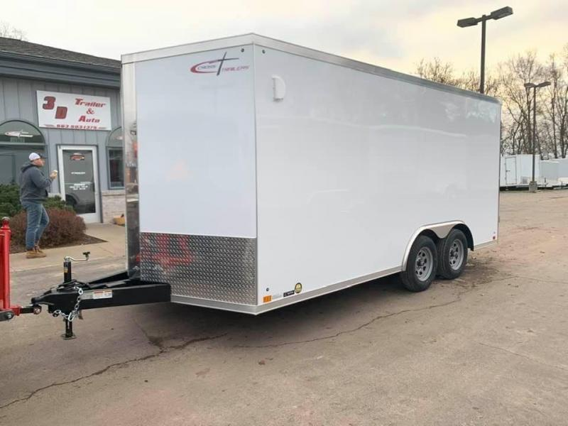 2020 Cross Trailers 8.5' X 16' X 6'5 7K GVWR ENCLOSED TRAILER Enclosed Cargo Trailer