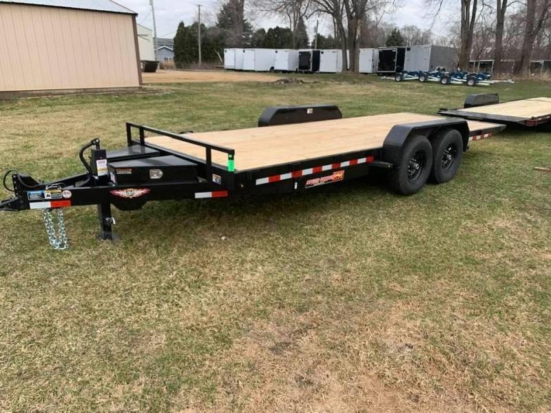 "2020 H & H 82"" X 20' 14k Speedloader EX Power Tiltbed Car / Racing Trailer"