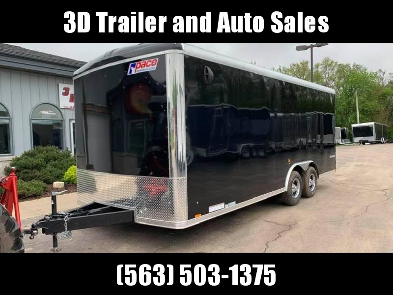 2021 Pace American 8.5' x 20' x 7' Cargo Sport Extra Tall Enclosed Trailer