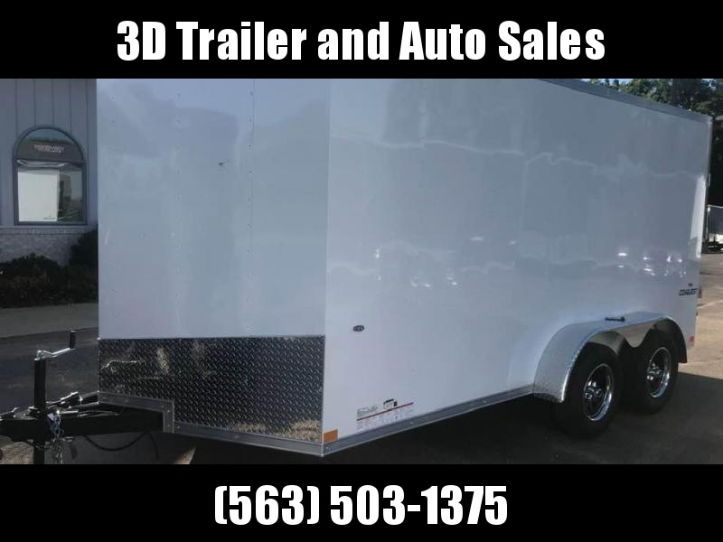 2020 Formula 7' x 14' x 7' Conquest Enclosed Trailer w/ Ramp