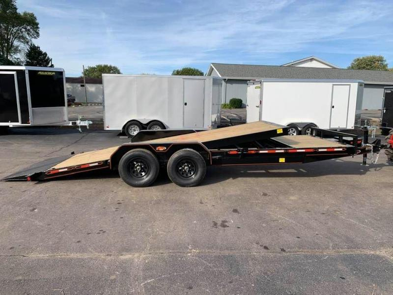 2019 Chase Trailers 22' 10K Split Deck Tilt Bed Equipment Trailer