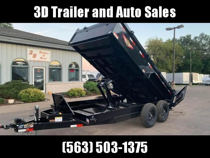 "2020 H & H 83"" x 14' 14k Dump Trailer"