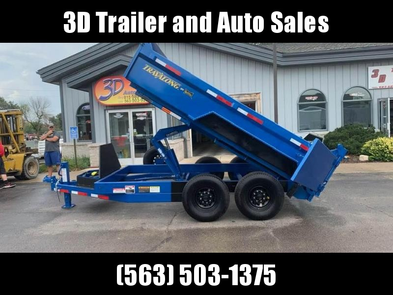 "2020 Travalong 82"" X 12' 14K Commercial Dump Bed Trailer"